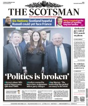 The Scotsman () Newspaper Front Page for 19 February 2019