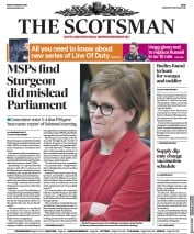 The Scotsman front page for 19 March 2021