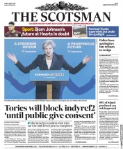 The Scotsman (UK) Newspaper Front Page for 19 May 2017