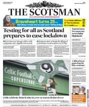 The Scotsman front page for 19 May 2020