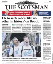The Scotsman (UK) Newspaper Front Page for 19 June 2017