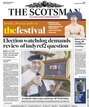 The Scotsman (UK) Newspaper Front Page for 19 August 2019
