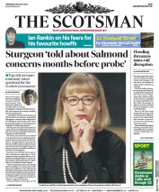 The Scotsman (UK) Newspaper Front Page for 19 August 2020