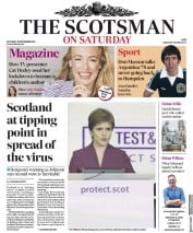 The Scotsman front page for 19 September 2020
