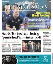The Scotsman (UK) Newspaper Front Page for 1 October 2019
