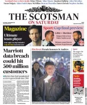 The Scotsman (UK) Newspaper Front Page for 1 December 2018
