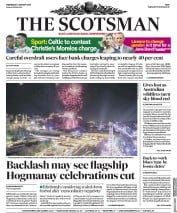 The Scotsman (UK) Newspaper Front Page for 1 January 2020