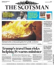 The Scotsman (UK) Newspaper Front Page for 1 February 2017