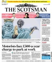 The Scotsman (UK) Newspaper Front Page for 1 February 2019