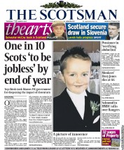 The Scotsman (UK) Newspaper Front Page for 1 March 2012