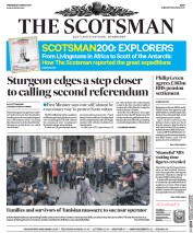 The Scotsman (UK) Newspaper Front Page for 1 March 2017
