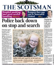 The Scotsman (UK) Newspaper Front Page for 1 April 2015