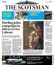 The Scotsman (UK) Newspaper Front Page for 1 May 2017