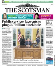 The Scotsman (UK) Newspaper Front Page for 1 June 2018