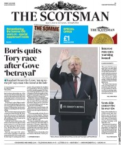The Scotsman () Newspaper Front Page for 1 July 2016
