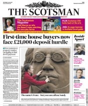 The Scotsman (UK) Newspaper Front Page for 1 July 2017