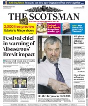 The Scotsman (UK) Newspaper Front Page for 1 August 2018
