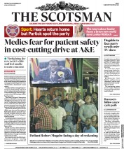 The Scotsman (UK) Newspaper Front Page for 20 November 2017