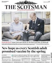 The Scotsman front page for 20 November 2020