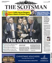 The Scotsman (UK) Newspaper Front Page for 20 December 2018