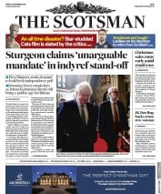 The Scotsman () Newspaper Front Page for 20 December 2019