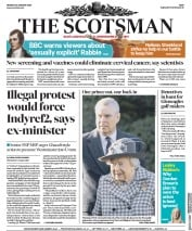 The Scotsman (UK) Newspaper Front Page for 20 January 2020