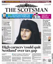 The Scotsman () Newspaper Front Page for 20 February 2019