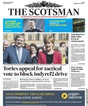 The Scotsman (UK) Newspaper Front Page for 20 April 2017