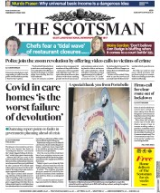 The Scotsman (UK) Newspaper Front Page for 20 May 2020