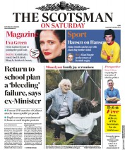 The Scotsman front page for 20 June 2020
