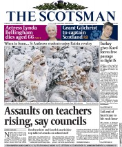The Scotsman (UK) Newspaper Front Page for 21 October 2014