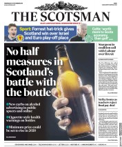 The Scotsman (UK) Newspaper Front Page for 21 November 2018