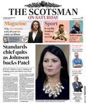 The Scotsman front page for 21 November 2020