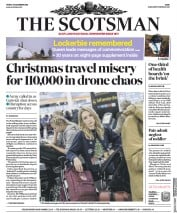 The Scotsman (UK) Newspaper Front Page for 21 December 2018