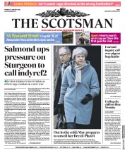 The Scotsman (UK) Newspaper Front Page for 21 January 2019