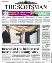 The Scotsman (UK) Newspaper Front Page for 21 January 2020