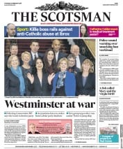 The Scotsman () Newspaper Front Page for 21 February 2019