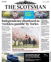 The Scotsman Newspaper Front Page (UK) for 21 April 2017