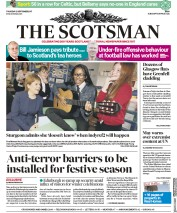 The Scotsman (UK) Newspaper Front Page for 21 September 2017