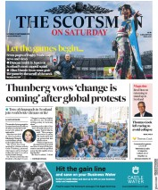 The Scotsman (UK) Newspaper Front Page for 21 September 2019