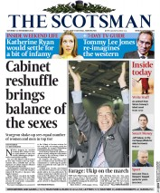 The Scotsman (UK) Newspaper Front Page for 22 November 2014