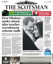The Scotsman (UK) Newspaper Front Page for 22 December 2017