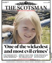 The Scotsman (UK) Newspaper Front Page for 22 February 2019