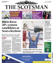 The Scotsman (UK) Newspaper Front Page for 22 March 2018