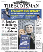 The Scotsman () Newspaper Front Page for 22 March 2019