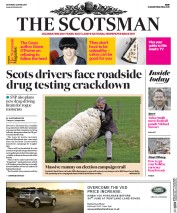 The Scotsman (UK) Newspaper Front Page for 22 April 2017