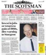 The Scotsman front page for 22 June 2020