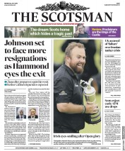 The Scotsman (UK) Newspaper Front Page for 22 July 2019