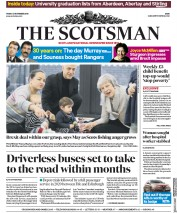 The Scotsman (UK) Newspaper Front Page for 23 November 2018