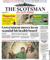 The Scotsman (UK) Newspaper Front Page for 23 November 2019